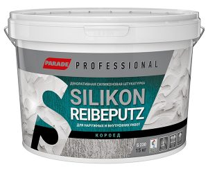 Штукатурка PARADE Professional короед SILIKON Reibeputz S230 R2,0 15кг.